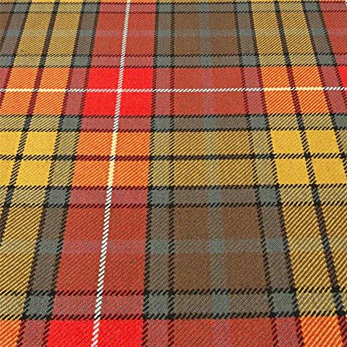 I Luv Ltd Buchanan Modern Clan 100% Wool Scottish Tartan Tie