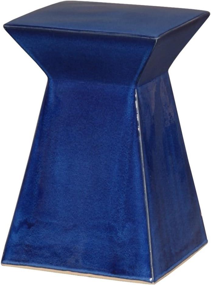 Very popular Emissary Home Garden Stool Blue 12993BL Import