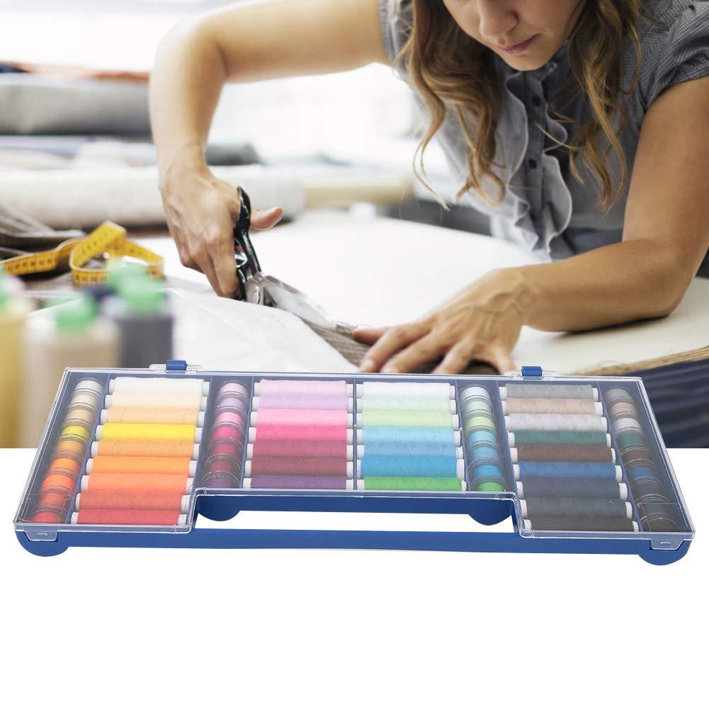HEEPDD Kit de Hilos de Coser de bobinas de 32 Colores, Kit de ...