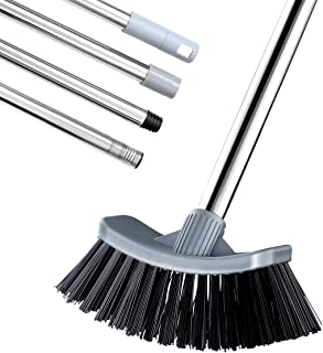 MEIBEI Hot Tub Scrub Brush/Dust Mop with Adjustable Long Handle Hot Tub Scrub Brush Gray