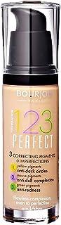 Bourjois 123 Perfect Foundation - 55 Dark Beige, 30 ml