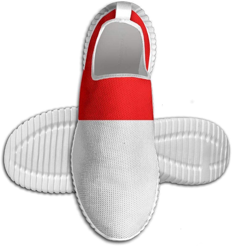 Flagg of Indonesia ny Printed ljusljus Andable Andable Andable springaning skor skor skor herrar Sports gående skor  Beställ nu med stor rabatt och gratis leverans