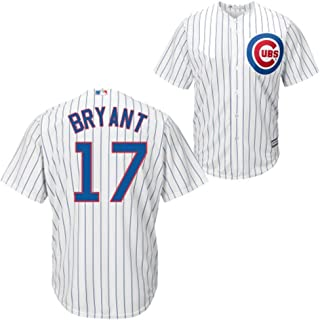 Outerstuff Kris Bryant Chicago Cubs MLB Majestic Youth 8-20 White Home Cool Base Replica Jersey