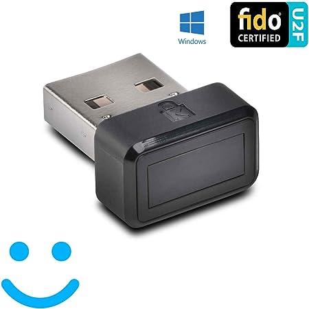 ケンジントン 【正規品・1年保証】VeriMark 指紋認証キー Windows Hello 機能対応 FIDO U2F 準拠 2要素認証 K67977JP