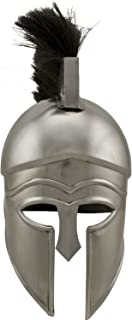 THORINSTRUMENTS (with device) Red Deer Corinthian Fire Collectible LARP Helmet