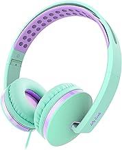 Kids Headphones for School, Jelly Comb Girls Lightweight...