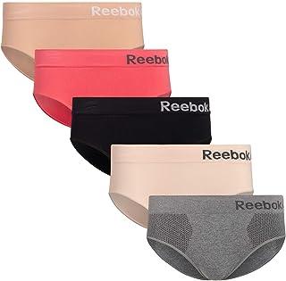 Reebok Womens Seamless Hipster Panties 5-Pack
