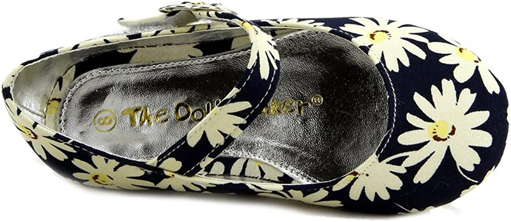 The Doll Maker Floral Textile Flat