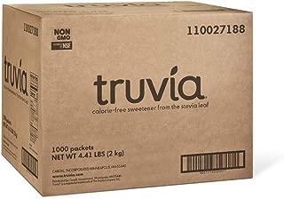 Truvia Natural Stevia Sweetener Packets, 1,000-Count Box (Net Wt. 70.56 oz)