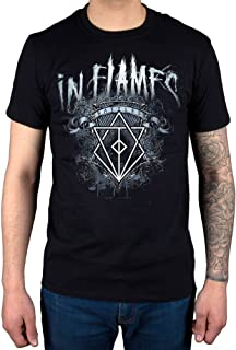 Official in Flames Battles Crest T-Shirt Siren Charms Lunar Strain Clayman Colony