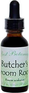 Best Botanicals Butcher's Broom Root Extract — Circulation and Inflammatory Response Support for Varicose Veins and Hemorr...