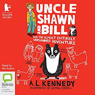 Uncle Shawn and Bill and the Almost Entirely Unplanned Adventure cover art