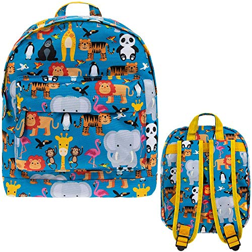 Lesser & Pavey Little Stars Zoo Backpack, Multi-Colour, LP72056A