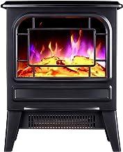 ZXF- Chimenea Eléctrica De Calefacción Inicio De Ahorro De Energía Caliente Asar Estufa Pequeña Oficina Sun Calentador De Simulación 3D De La Llama De Calefacción For Toda La Casa