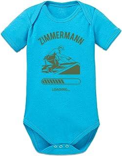 Shirtcity Zimmermann Loading Baby Strampler by