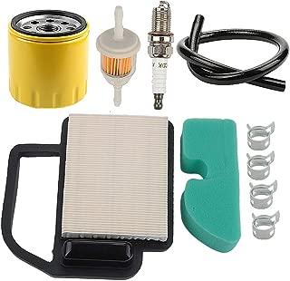 Powtol 20 083 02-S Air Filter+52 050 02-S Oil Filter fits Kohler Courage 15 16 17 18 19 20 21 22 HP YTH21K46 YTH20K46 Engines Cub Cadet KH-20-083-02-S KH-20-883-02-S1
