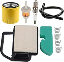 Powtol 20 083 02-S Air Filter+52 050 02-S Oil Filter fits Kohler Courage 15 16 17 18 19 20 21 22 HP YTH21K46 YTH20K46 Engines Cub Cadet KH-20-083-02-S KH-20-883-02-S1