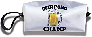 Coin Pouch Beer Pong Champ Pen Holder Clutch Wristlet Wallets Purse Portable Storage Case Cosmetic Bags Zipper