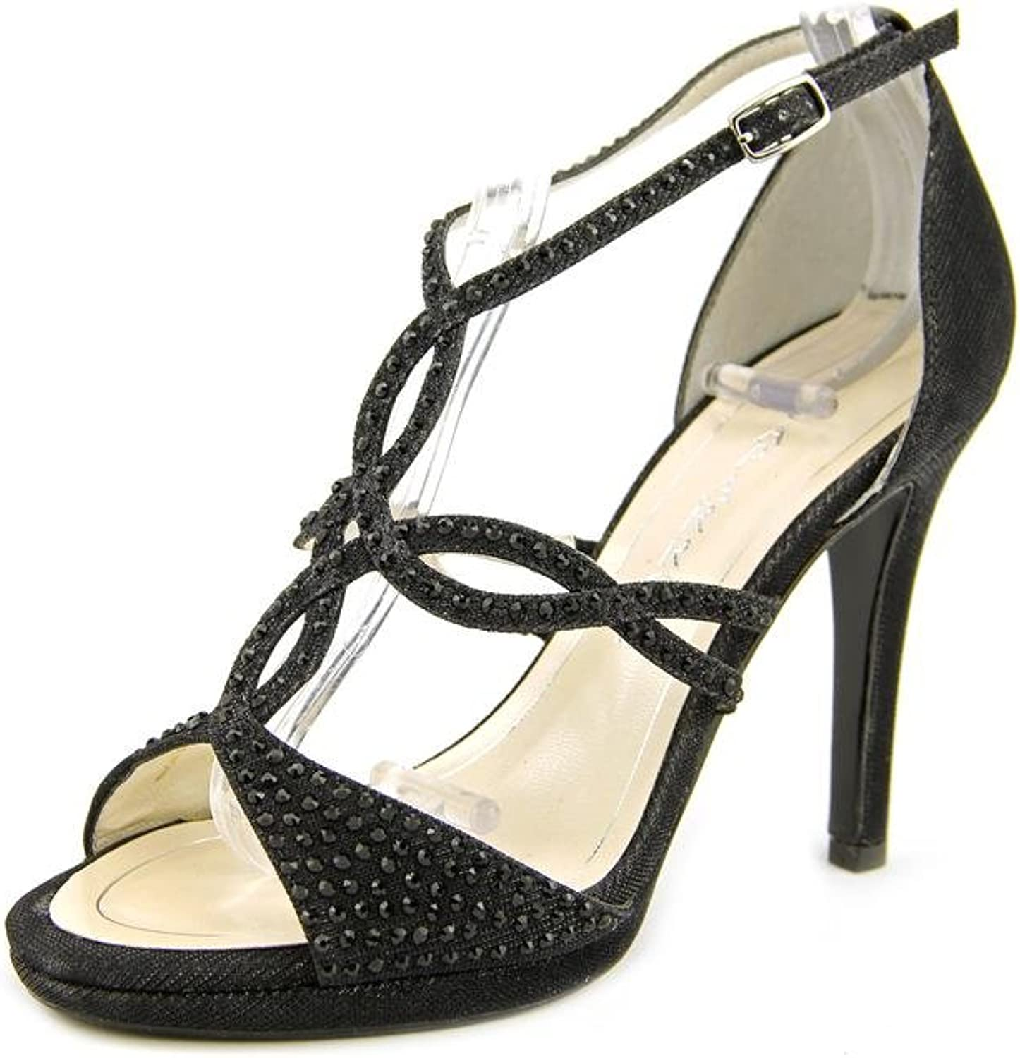 Caparros Womens Nixie Open Toe Special Occasion Strappy Sandals