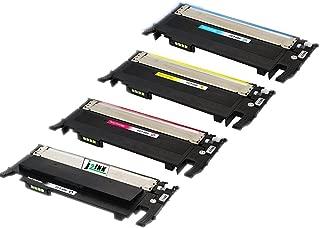 J2INK 4PK CLT-K406S CLT-C406S CLT-M406S CLT-Y406S Black Cyan Magenta Yellow Cartridge Set for Samsung Xpress C460W C460FW