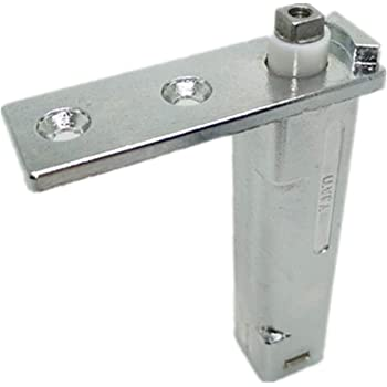 130 x 25 mm Bisagra de Puerta Giratoria Ocultade de Acero Inoxidable Resistente Bisagra pivotante para puerta Tiberham 2 Pcs Rotaci/ón de 360 Grados Bisagras Giratorias de Eje de Puerta Ocultas