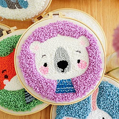 TLBBJ Jouets artisanaux Kit Bricolage Filles Filles Handicraft Enfants Artisanat Créativité Créativité Matériau Manuel Activités Jouets pour Enfants Cadeau Adulte Facile (Color : Bear)