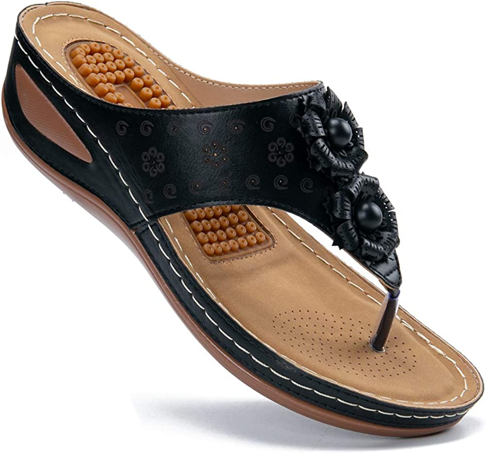 Women's Sandals Comfortable Flip 100% quality warranty! Flops Arch Dealing full price reduction with Suppo Women for