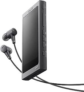 ソニー SONY ウォークマン Aシリーズ 16GB NW-A35HN : Bluetooth/microSD/ハイレゾ対応 ノイズキャンセリング機能搭載 ハイレゾ対応イヤホン付属 チャコールブラック NW-A35HN B