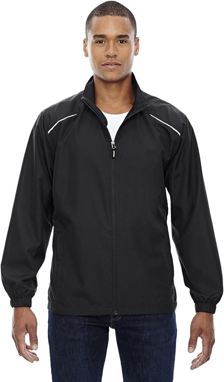 Ash City North End Men's Motivate Unlined Jacket, Black 703, XXX-Large