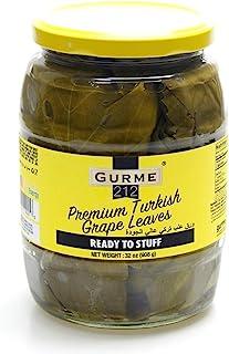 Gurme212 Premium Turkish Grape Leaves 32 oz