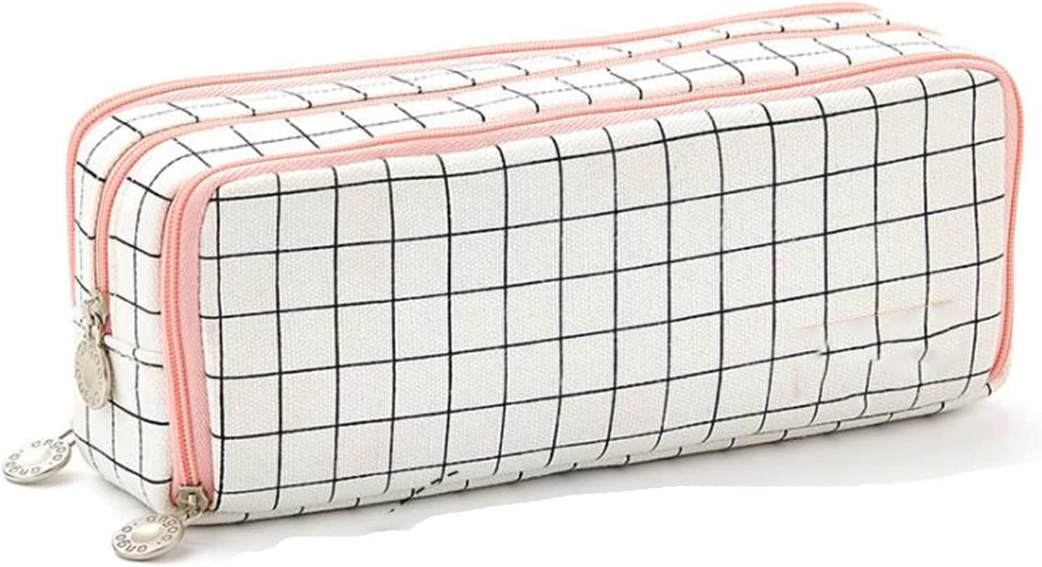 Wangyiqian Pencil Pen Case Multi Compartments Discount mail order Pouch Tampa Mall Bag Hold