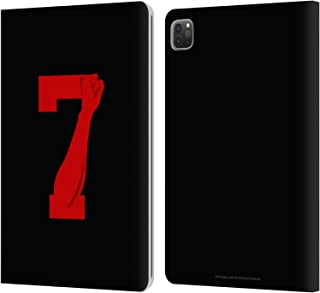 Head Case Designs Officially Licensed JVY Creations Logo Power 7 Leather Book Wallet Case Cover Compatible with Apple iPad Pro 11 (2020)