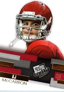 2014 Press Pass GOLD Football Rookie Card #32 AJ McCarron (QB) Alabama