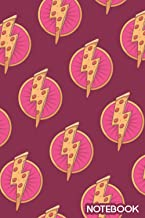 Notebook: Pizza journal gift with a pizza pattern themed layout and a lined cover panel| 6x9 inches | colleged ruled line ...