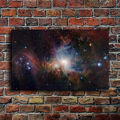 NOBRAND Pinturas sobre Lienzo Decoración para el hogar 1 Pieza Constelación de Orión Nebulosa Cartel Dormitorio Impresiones Resumen Cielo Estrellado Imágenes Arte de la pared-40X60cm_unframed