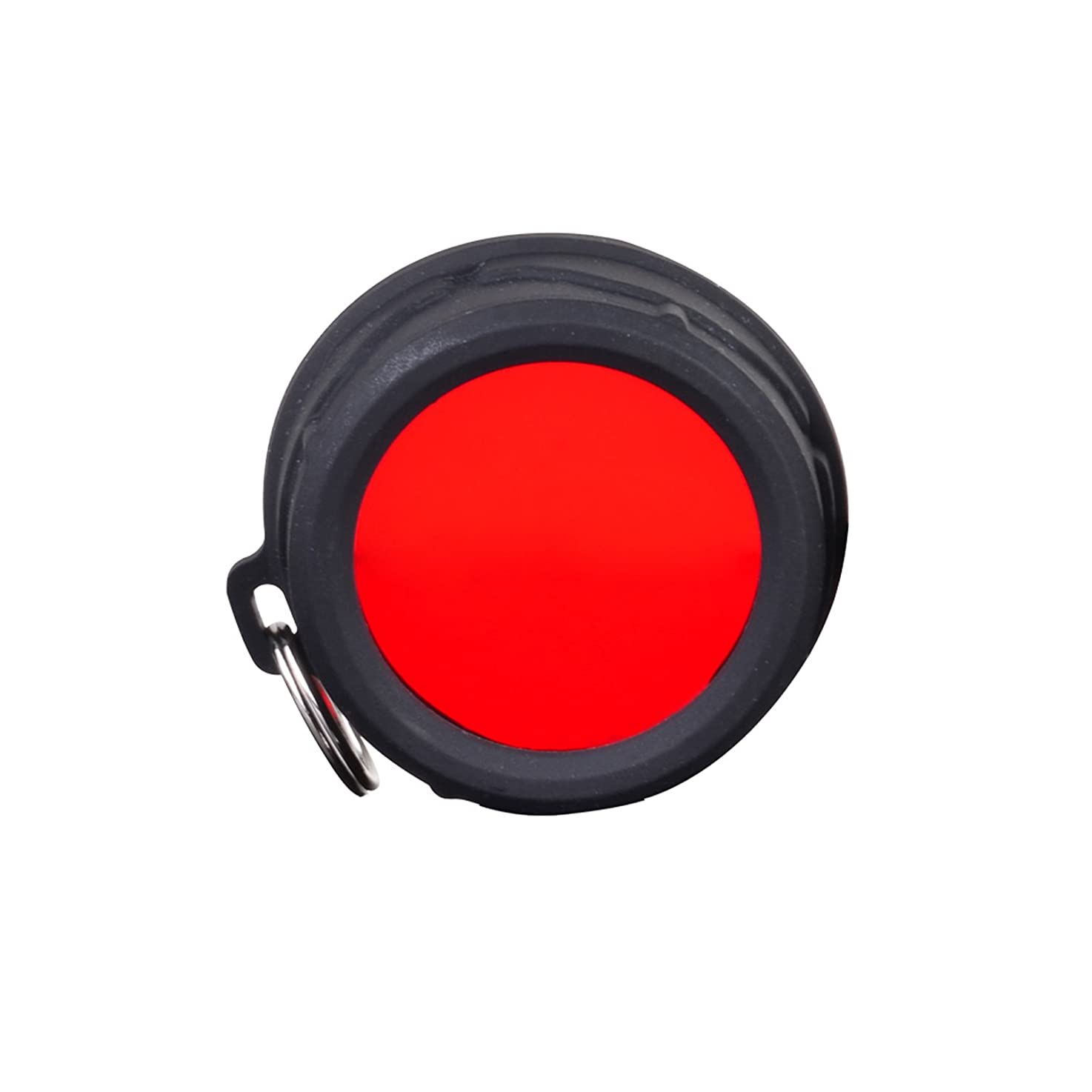 Klarus FT11 Filter,Can be Compatible with 35mm Bezel(Like XT10/XT11/XT12/XTQ1/XT11S/XT11GT/RS11),Available for Red,Gree,Blue and White Color (Red)