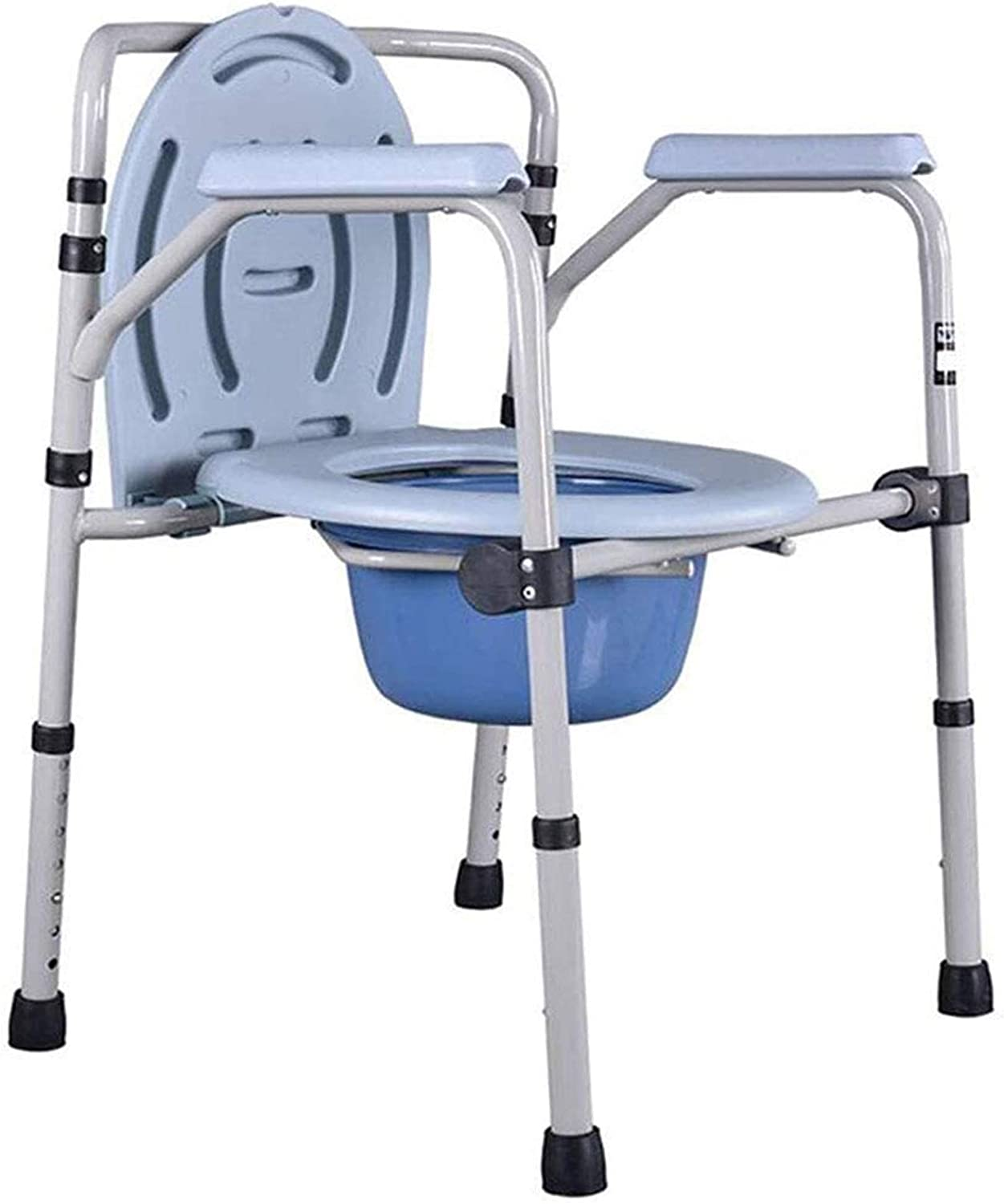 Sales HMMN Steel 3-in-1 Bedside Commode Seat Chair lowest price Portable Por Toilet