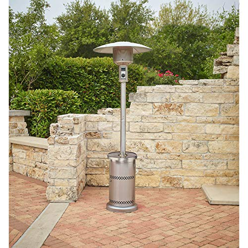 Mosaic Patio Heater with Table Stainless Steel Outputs up to