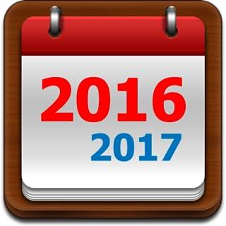 US Calendar Note 2016/2017