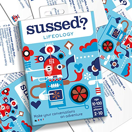 SUSSED Fun Family Party Card Game | Who Knows Who Best: Teens vs Mum & Dad...