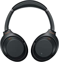 (RENEWED) Sony WH-1000XM3 Wireless Industry Leading Noise Cancellation Headphones with Touch Sensor (Black)