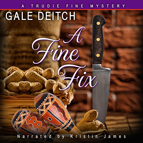 A Fine Fix audiobook cover art
