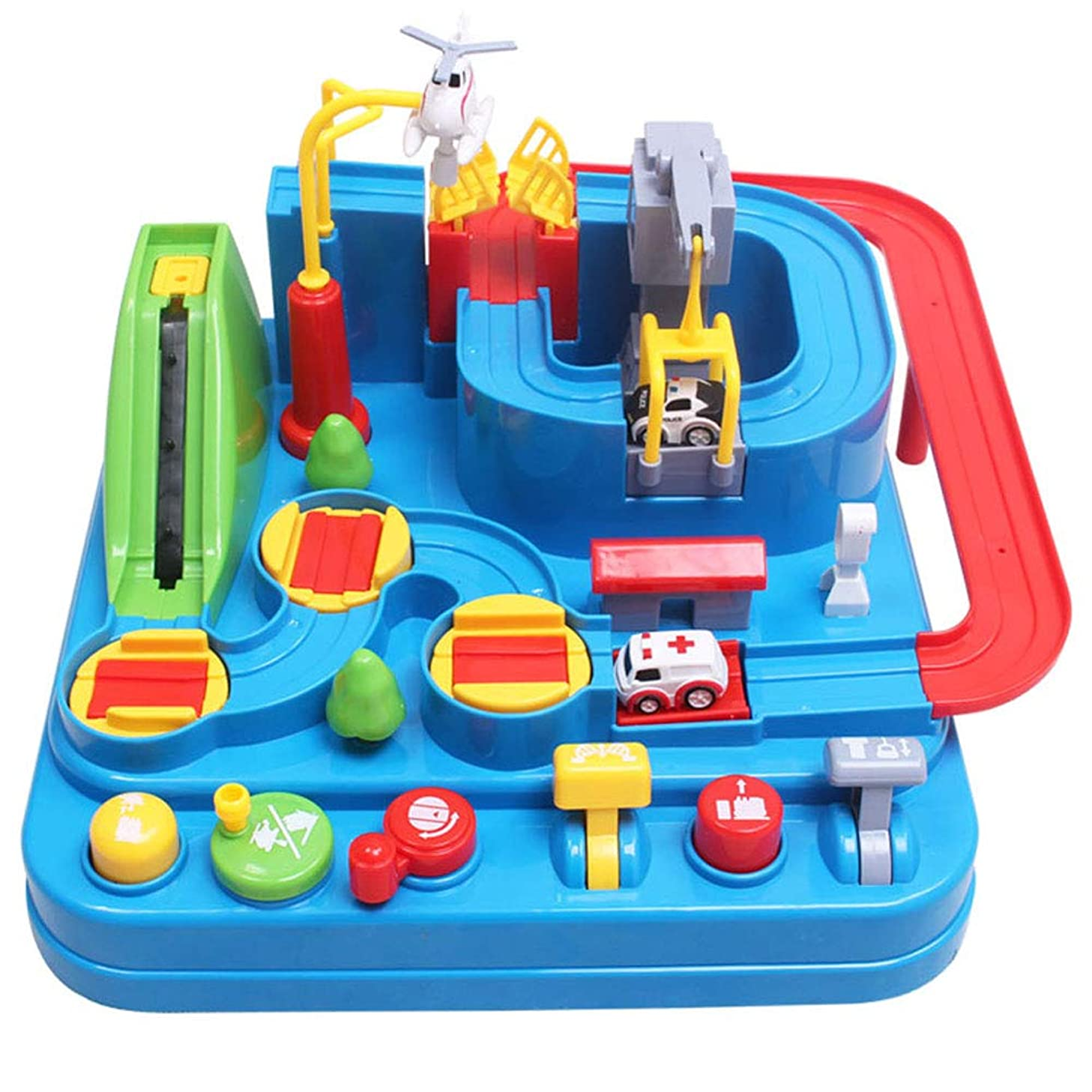Byx- Toys - Thomas Train Set Car Shaoguan Big Adventure Educational Toys 6 Boys 3 Years Old - 3 Styles - Toys (Color : A)