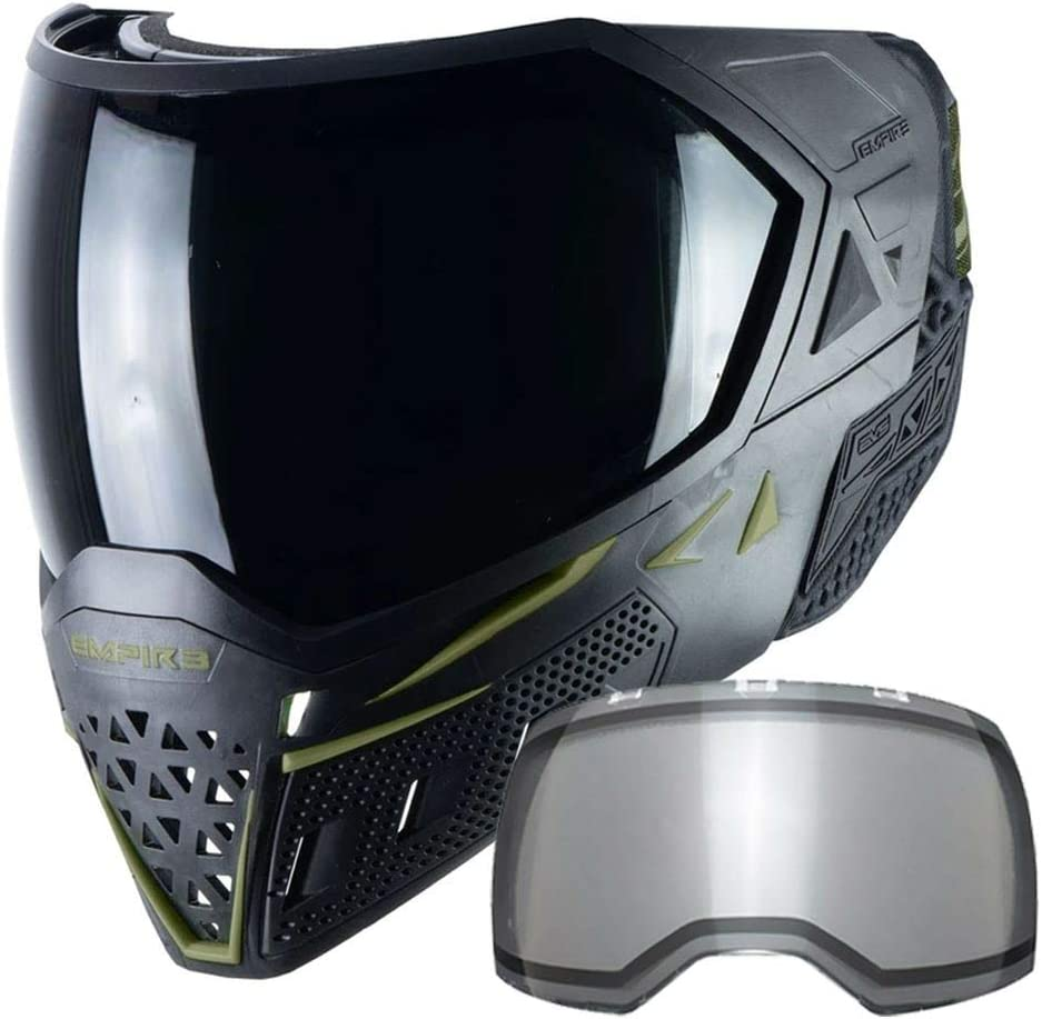 Empire EVS Finally popular brand Thermal Paintball Mask Goggle - 2 Bl NEW Lenses