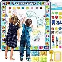 Tobeape 100 X 100 cm extra large aqua magic doodle mat