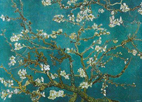 Van Gogh Riesenposter Mandelblüten, 1890 (140 x 100 cm)