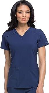 EDS Essentials Women Scrubs Top V-Neck DK615