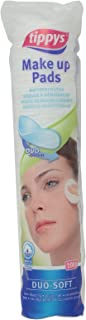 Tippys Make Up Pads Duo Soft 100 Pcs, Pack of 1