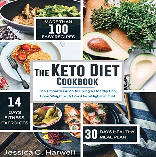 The Keto Diet Cookbook cover art