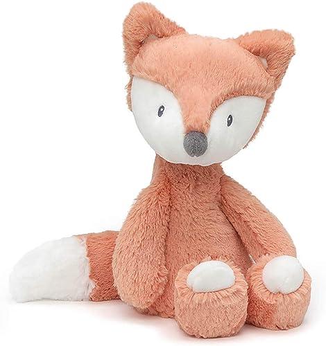"""Baby GUND Baby Toothpick Emory Fox Plush Stuffed Animal, Orange and Cream, 12"""""""